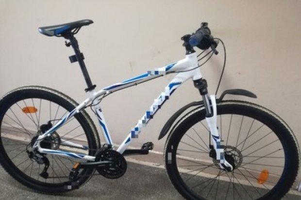 Seryjny złodziej rowerów zatrzymany, jednoślad warty 1,5 tys. zł odzyskany