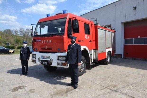 Strażacy z Czernej z nowym wozem ratowniczo-gaśniczym