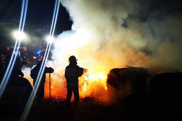 Kolejne pożary w powiecie bolesławieckim