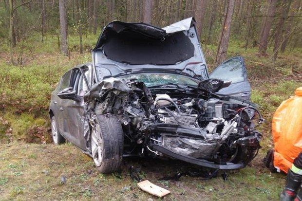 Śmiertelny wypadek, zginął 62-latek. Kierowca z naszego powiatu był pijany