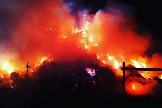 Duży pożar w Ocicach. Akcja trwała ponad 4 godziny