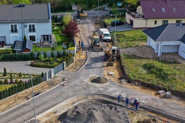 Budują przy Jagiellonów w Bolesławcu