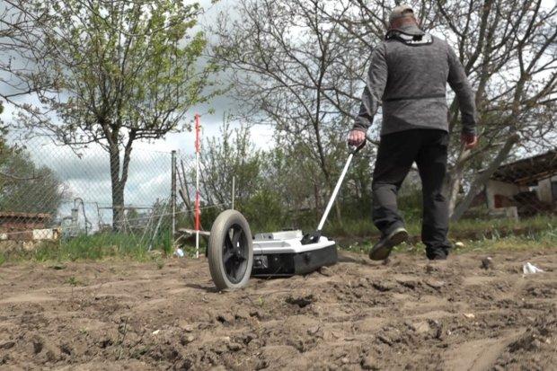 Georadar z Katowic pomaga w poszukiwaniach Kacperka