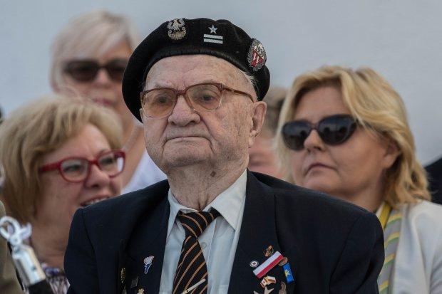 Pancerniak mjr Marian Słowiński świętował swoje… 101 urodziny