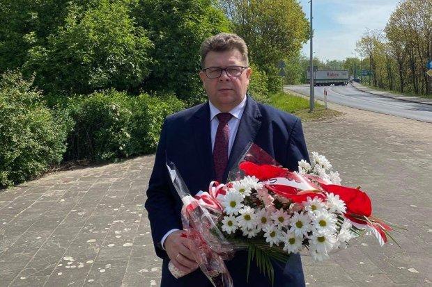 Poseł Robert Obaz w Bolesławcu oddał hołd poległym