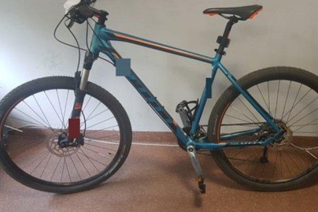 Drogówka odzyskała skradziony rower, zanim... właściciel zgłosił kradzież