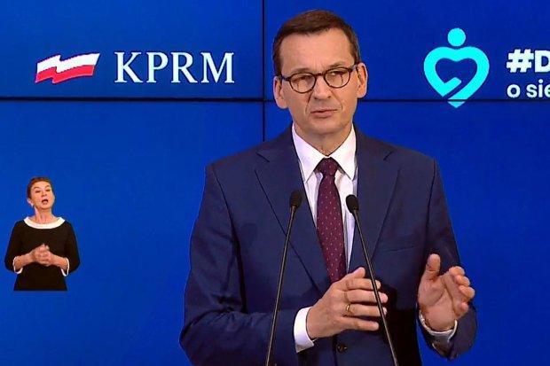 Premier Mateusz Morawiecki w poniedziałek w Bolesławcu