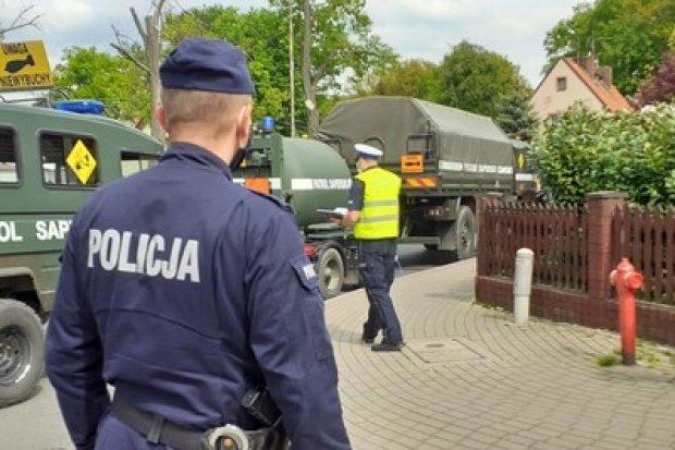 Ewakuacja ok. 1,5 tys. mieszkańców! Granat przy Góralskiej w Bolesławcu