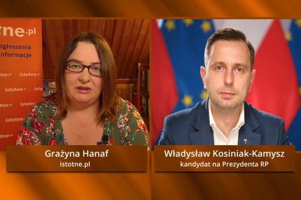 Władysław Kosiniak-Kamysz o wyborach na prezydenta