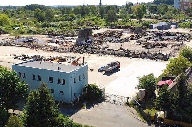 Z panoramy Bolesławca znikają obiekty, gdzie pracowali więźniowie Gross Rosen