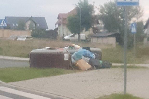 """Jest problem ze śmieciami w Nowogrodźcu? """"Nikt chyba tego nie kontroluje albo gmina oszczędza"""""""