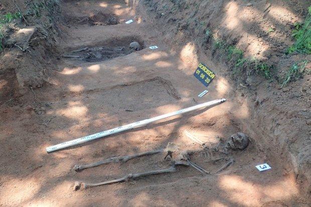Szczątki niemieckich żołnierzy znaleziono koło Gościszowa
