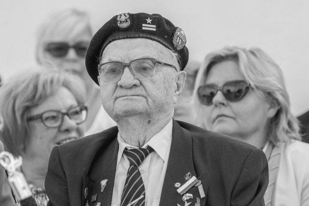 Mjr Marian Słowiński, bohater wojenny, nie żyje. Miał 101 lat