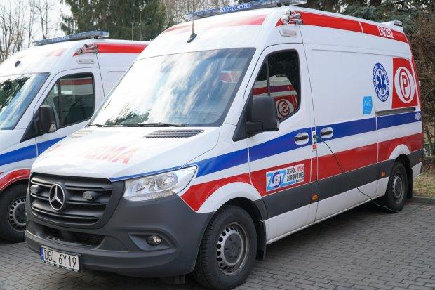 Powiat przekazał pieniądze na nowy ambulans dla bolesławieckiego ZOZ