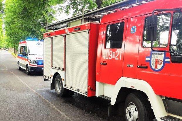 Strażacy uratowali życie kobiecie, która doznała nagłego zatrzymania krążenia