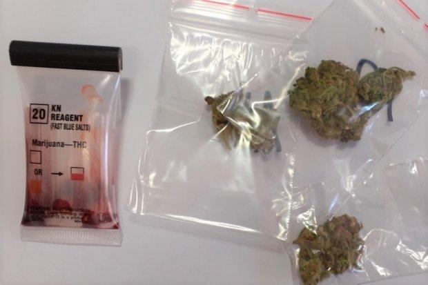 20-latek wpadł z marihuaną. Narkotyki ukrył… w bieliźnie