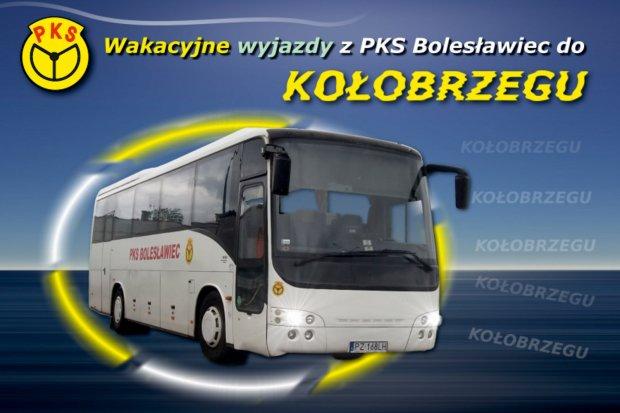 Wakacyjne wyjazdy do Kołobrzegu z PKS Bolesławiec