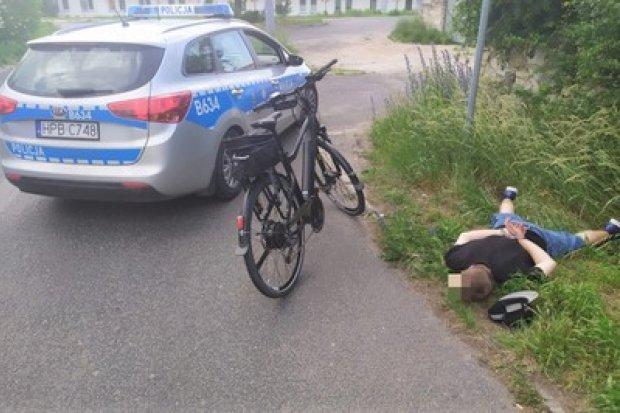 Drogówka błyskawicznie złapała złodzieja elektrycznego roweru