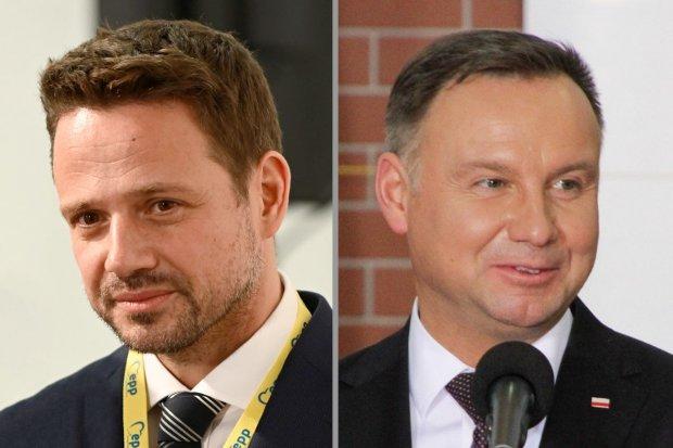 Będzie druga tura wyborów. Według sondaży powalczą Duda i Trzaskowski