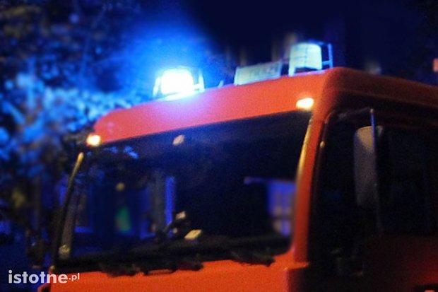 Nocny pożar budynku gospodarczego w miejscowości Nowa