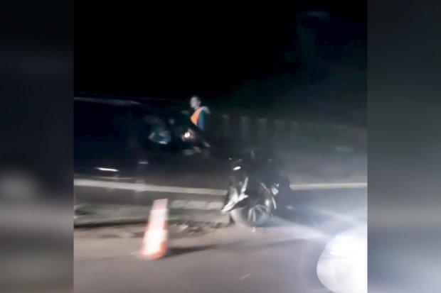 Wypadek na A4 koło Godzieszowa