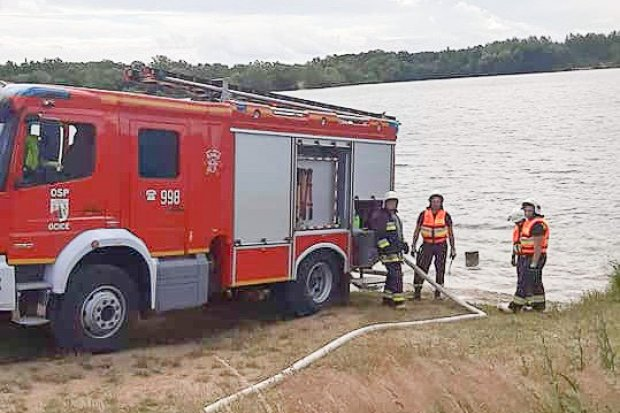 Pracowity dzień strażaków ochotników z Ocic