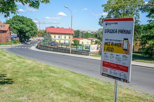 """Dobra informacja dla rowerzystów: """"BROM"""" rozrasta się. Jest kolejna stacja!"""