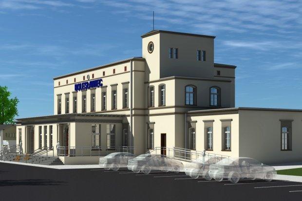 Dworzec PKP w Bolesławcu – wiemy jak będzie wyglądał po modernizacji