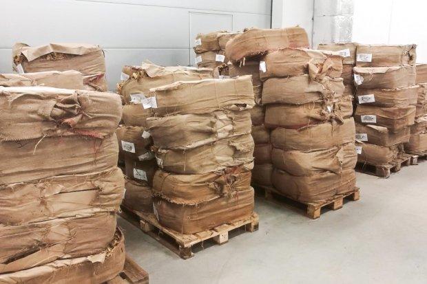 Przechwycili 18 ton nielegalnego tytoniu. Wartość kontrabandy to 9,5 mln zł