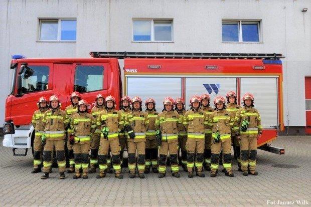 Bolesławieccy strażacy z nowym umundurowaniem