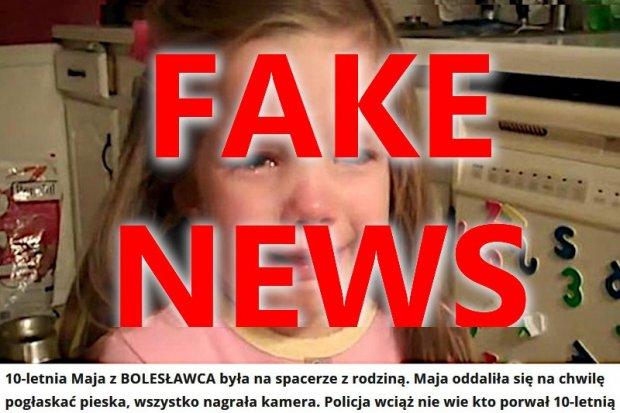Porwanie dziecka i brutalny gwałt w Bolesławcu to fake newsy