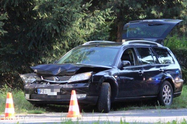 Kolizja z udziałem trzech aut przy Jeleniogórskiej