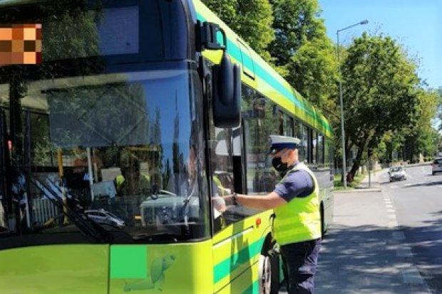 Policja skontrolowała trzeźwość kierowców autobusów