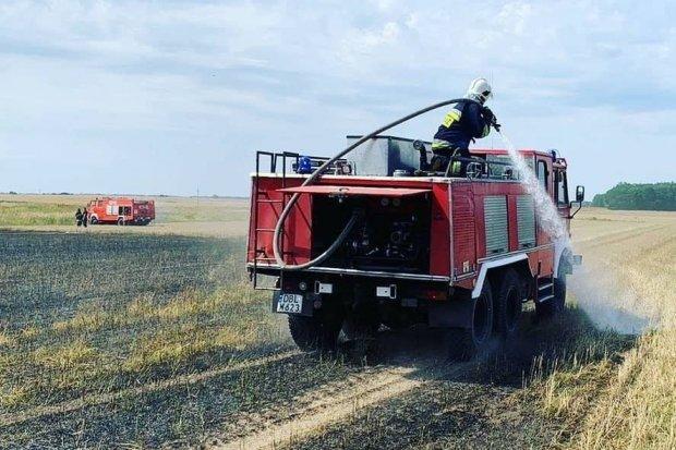 Kolejny pożar na polu, tym razem w Zebrzydowej