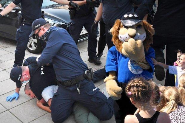 Do Komisarza Lwa! Naucz dzieci, jaki policjant jest naprawdę