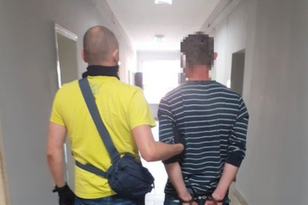 Poszukiwany listem gończym oszust i wandal namierzony i zatrzymany