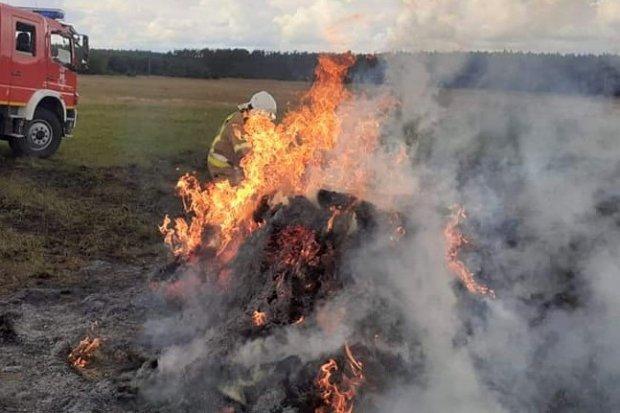 Pożar w Nowej Wsi Kraśnickiej