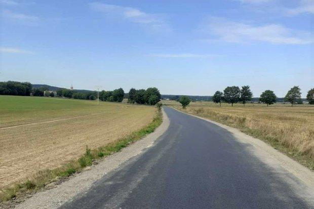 Nowa droga w Godzieszowie