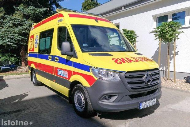 Nowa karetka dla bolesławieckiego szpitala powiatowego
