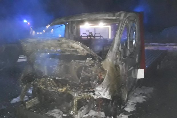 Bandyci podpalili dwie autolawety w Zebrzydowej. Jest nagroda za wskazanie sprawców