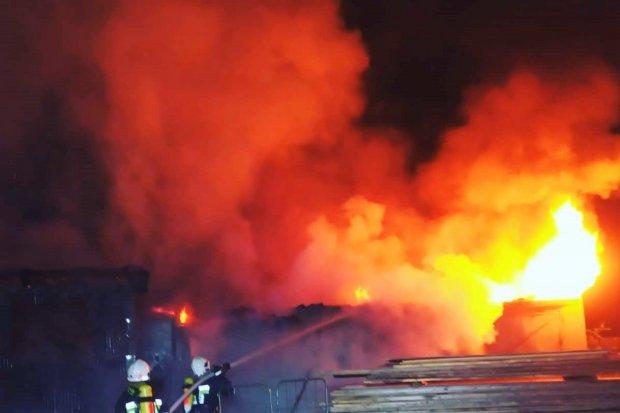 Nocna akcja straży. Pożar w Zebrzydowej