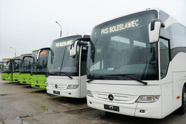 Kolejne autobusy w bolesławieckim PKS-ie