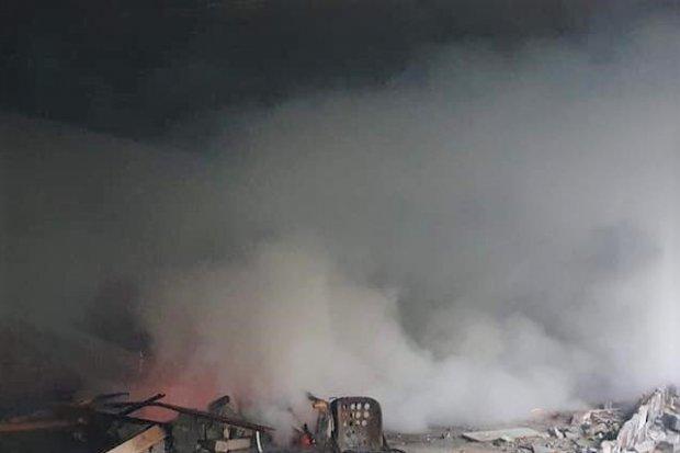 Pożar w Trzebieniu