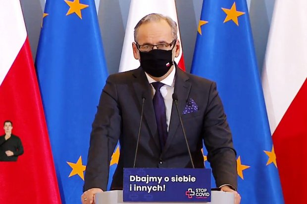 Minister Zdrowia Adam Niedzielski: dolnośląskie na liście alarmowej do lockdownu