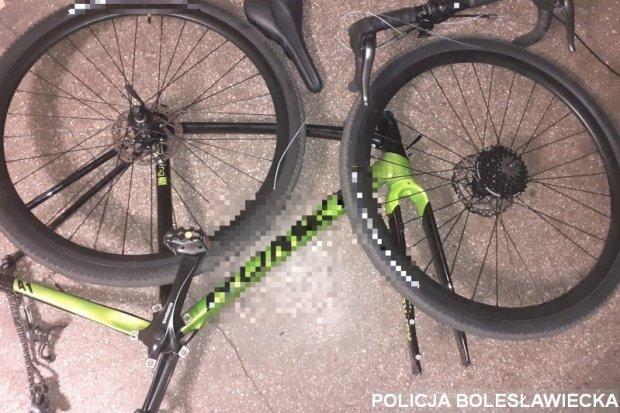 Ukradł rower warty 2,5 tys. zł. Złodziej w rękach policji
