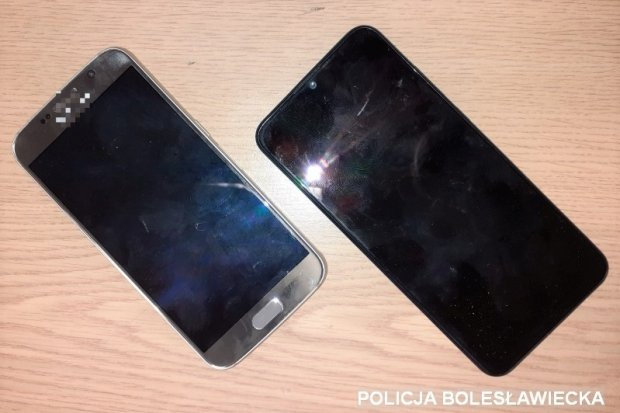 Złodziej-recydywista w ostatni dzień wakacji ukradł dwa telefony