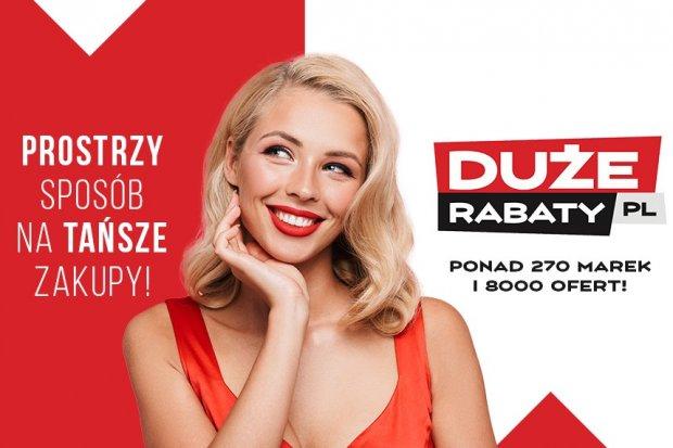 Oszczędności przy zakupie ubrań z DuzeRabaty.pl