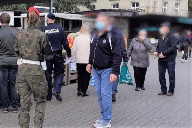 Pandemia: wspólne patrole policji i żandarmerii w Bolesławcu