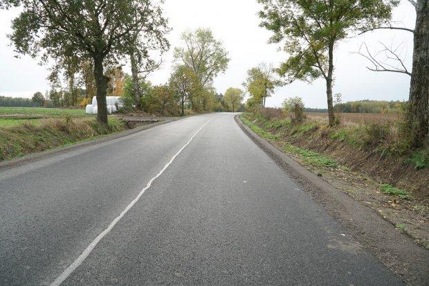 Przebudowana droga z Bolesławca do Mściszowa
