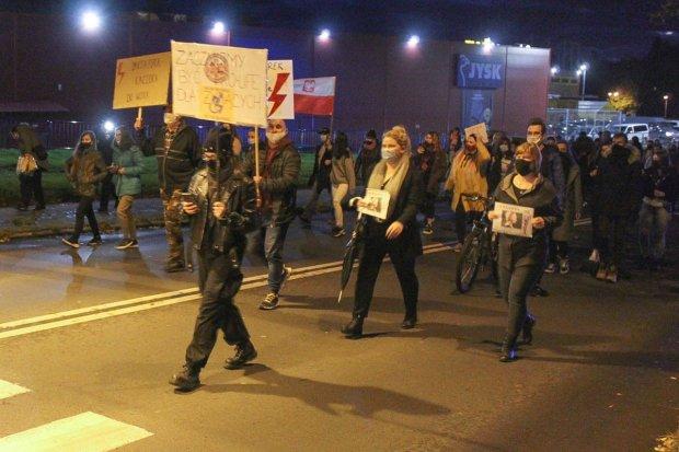 Kolejny protest w Bolesławcu, już siódmy